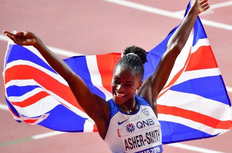 [Mondiaux-2019 d'athlétisme]Dina Asher-Smith sacrée sur 200 m
