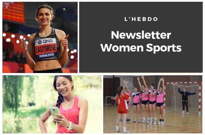 La newsletter WOMEN SPORTS du mardi 1er octobre 2019