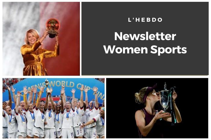 La newsletter WOMEN SPORTS du mardi 22 octobre 2019