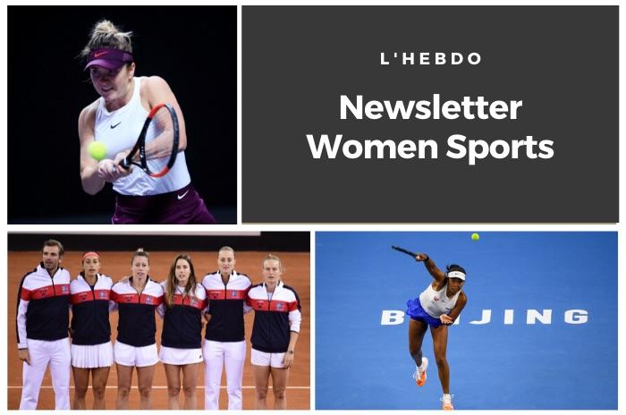 La newsletter WOMEN SPORTS du mardi 29 octobre 2019