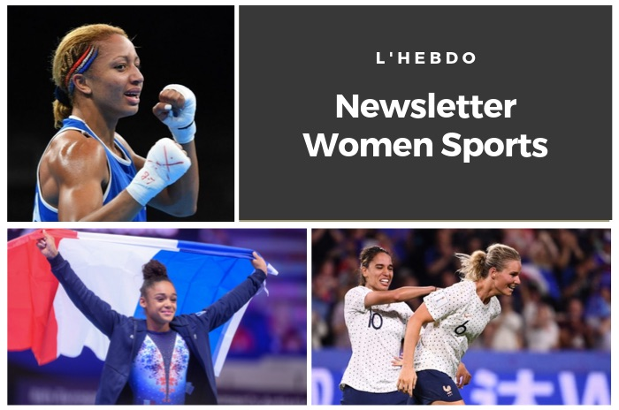 La newsletter WOMEN SPORTS du mardi 8 octobre 2019