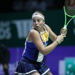 Jelena Ostapenko s'est qualifiée pour la finale du tournoi WTA de Luxembourg. Elle y affrontera l'Allemande Julia Görges, 26e mondiale et tenante du titre.