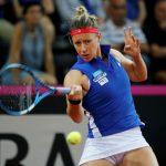 Les trois françaises engagées au tournoi WTA de Luxembourg - à savoir Pauline Parmentier, Chloé Paquet et Fiona Ferro - ont été éliminées au premier tour.