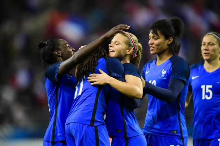 Qualifs Euro-2021 : la France bat l'Islande avec une parfaite Eugénie Le Sommer en attaque !