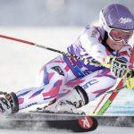La Française Tessa Worley a pris la troisième place du slalom géant de Sölden samedi, en Autriche, première étape de la Coupe du monde de ski alpin.