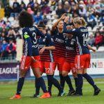 Les joueuses de l'OL ont battu les Danoises de Fortuna Hjorring 7-0 mercredi soir, à l'occasion du 8e de finale retour de la Ligue des Champions féminine.