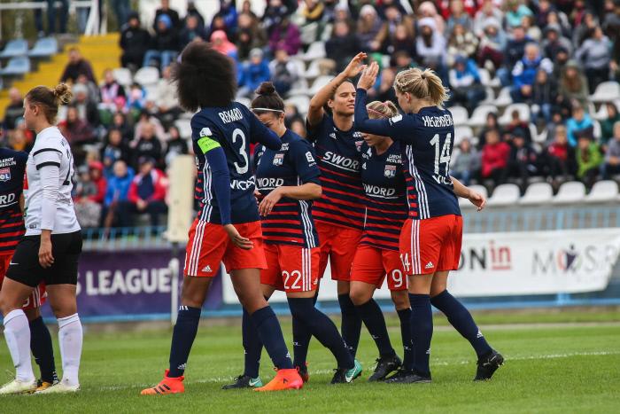 UEFA Women's Champions League : Lyon en colle 7 au Fortuna Hjorring