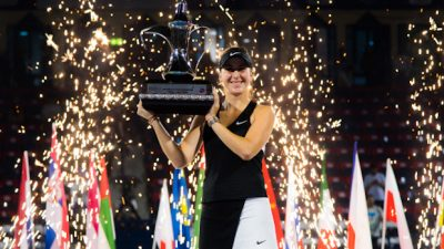 WTA de Moscou : Belinda Bencic titrée avant le Masters