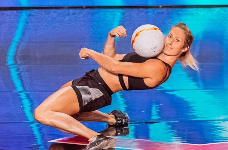 Football : Melody Donchet sacrée reine du freestyle à Miami