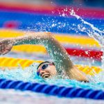 L'Allemande Sarah Köhlers'est offert ce samedi le record du monde du 1.500m en petit bassin à Berlin, loin devant son précédent record personnel !