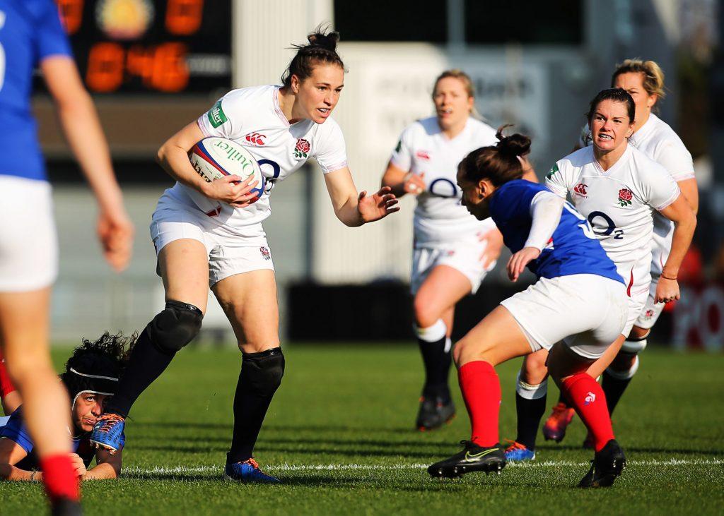 Rugby : les Bleues s'inclinent au dernier moment face aux Anglaises