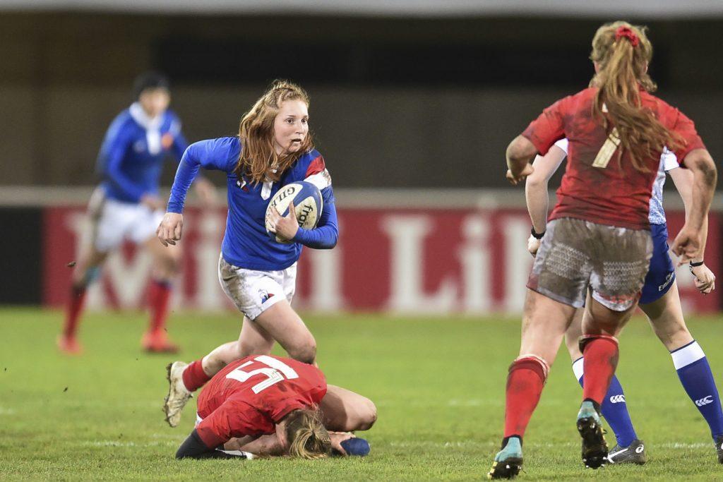Rugby : la Française Pauline Bourdon en lice pour le titre de meilleure joueuse de l'année