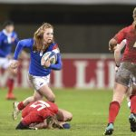 World Rugby a dévoilé vendredi la liste des cinq finalistes pour le titre de meilleure joueuse de l'année 2019. La Française Pauline Bourdon a été retenue !