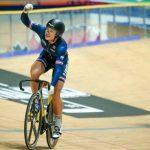 Double championne d'Europe du keirin, la Française Mathilde Gros s'est inclinée en finale de la première manche de Coupe du monde sur piste à Minsk.