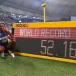 L'Américaine Dalilah Muhammad a été élue «athlète féminine de l'année» par la Fédération internationale d'athlétisme samedi, à Monaco.