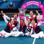 L'équipe de France féminine de tennis a remporté la Fed Cup dimanche, à Perth, en s'imposant 3-2 face à l'Australie d'Ashleigh Barty (N.1 mondiale).