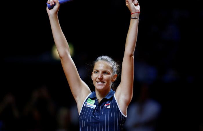 Masters 2019 : Pliskova se qualifie pour les demi-finales et élimine Halep