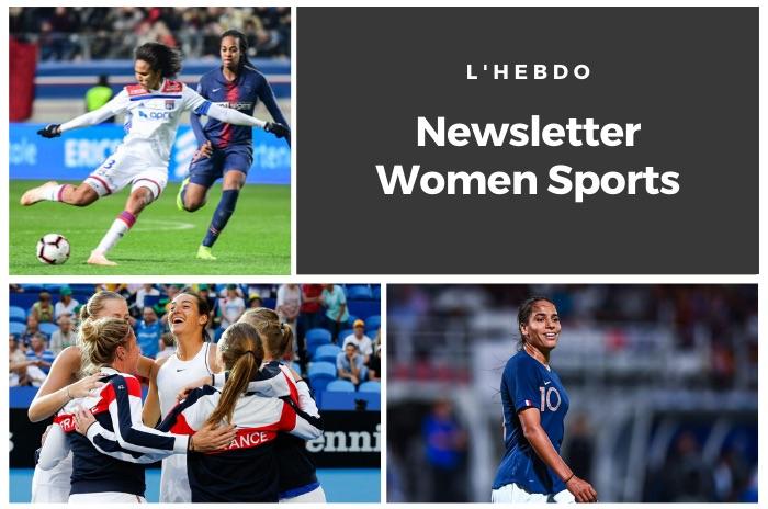 La newsletter WOMEN SPORTS du mardi 12 novembre 2019
