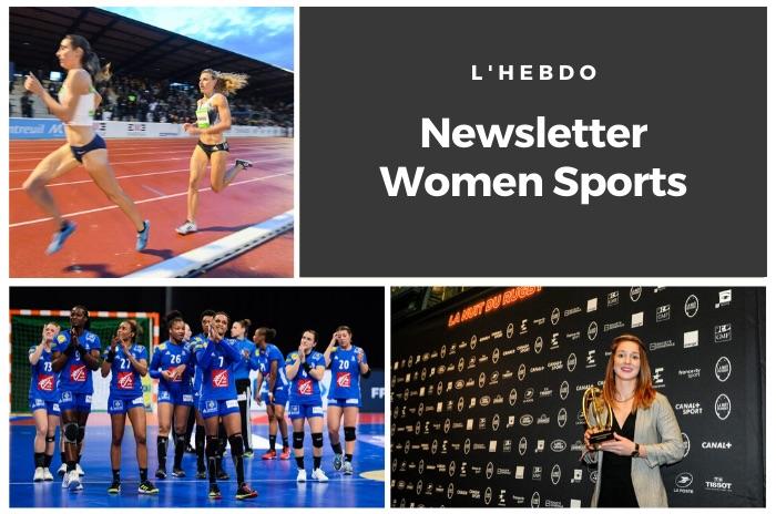 La newsletter WOMEN SPORTS du mardi 26 novembre 2019
