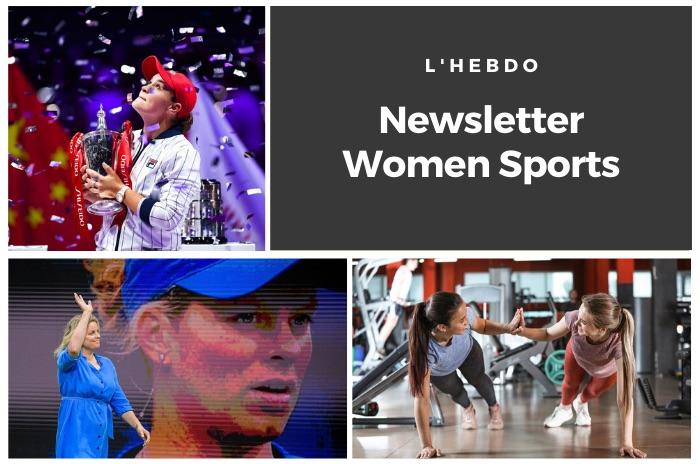 La newsletter WOMEN SPORTS du mardi 5 novembre 2019