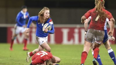 Rugby : le XV de France féminin affronte l'Angleterre ce samedi