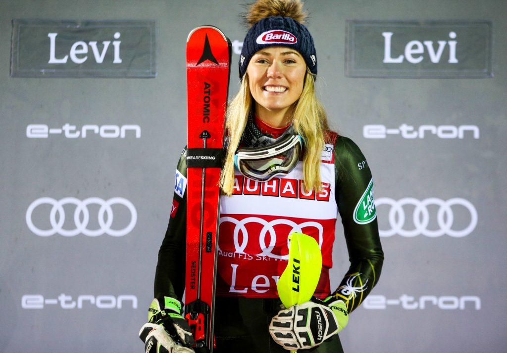 Ski alpin : Mikaela Shiffrin signe son premier succès de la saison