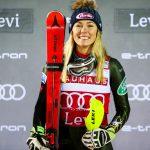 L'Américaine Mikaela Shiffrin a remporté sa première victoire de la saison en Coupe du monde de ski alpin 2019-2020 samedi, sur le slalom de Levi.