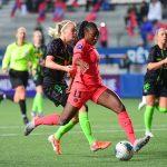 Les footballeuses du Paris Saint-Germain se sont qualifiées pour les quarts-de-finale de la Ligue des Champions jeudi soir, en battant Breidablik 3-1.