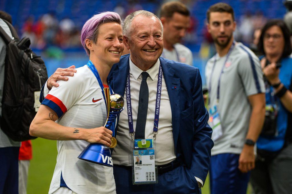 Football – L'Olympique Lyonnais rachète le club de Megan Rapinoe