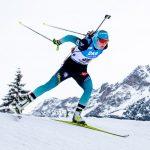 La Française Justine Braisaz a terminé deuxième du sprint de l'étape de Coupe du monde de biathlon organisée au Grand-Bornand ce vendredi.