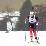 La Norvégienne TirilEckhoff, déjà vainqueure du sprint de ce vendredi au Grand-Bornand, a réitéré ce samedi sur la poursuite en décrochant la 1ere place.