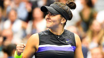 Tennis : Bianca Andreescu élue athlète canadienne de l'année