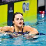 La Française Béryl Gastaldello a remporté la médaille d'argent du 100 m des Championnats d'Europe 2019 de natation en petit bassin vendredi, à Glasgow.
