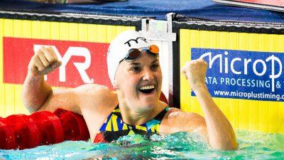 Euro-2019 de natation : après l'or, l'argent pour Mélanie Hénique !