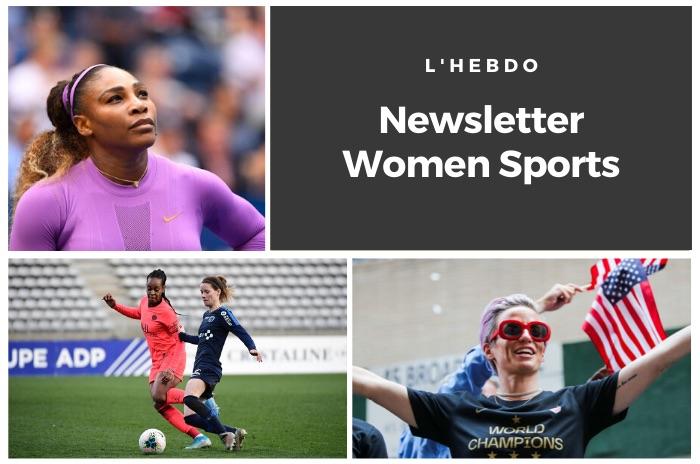 La newsletter WOMEN SPORTS du mardi 17 décembre 2019