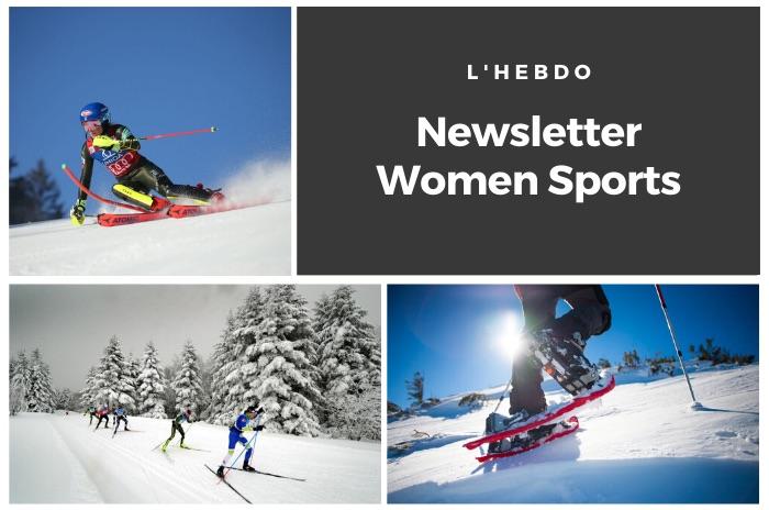La newsletter WOMEN SPORTS du mardi 31 décembre 2019