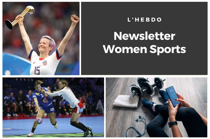 La newsletter WOMEN SPORTS du mardi 3 décembre 2019