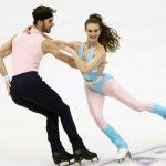 Gabriella Papadakis et GuillaumeCizeron, quadruples champions du monde de danse sur glace, ont remporté lafinale du Grand Prix de patinage artistique.