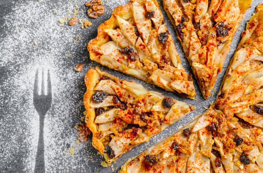 FOOD – La tarte d'hiver aux fruits secs pour accompagner nos chocolats chauds !