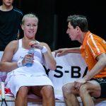 La Néerlandaise Kiki Bertens, N.9 mondiale, participera à la Fed Cup la saison prochaine, ainsi qu'aux Jeux Olympiques d'été de Tokyo-2020.