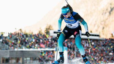 Biathlon : les Bleues 2emes du relais de Ruhpolding, derrière la Norvège