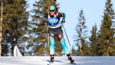 CDM Biathlon – Anaïs Bescond termine troisième de la mass start de Pokljuka
