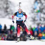 La Norvégienne Tiril Eckhoff a remporté le sprint de Ruhpolding et prend ainsi la première place du classement général de la Coupe du monde de biathlon.