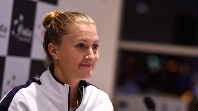Baromètre : Kristina Mladenovic, star des médias sportifs l'automne dernier