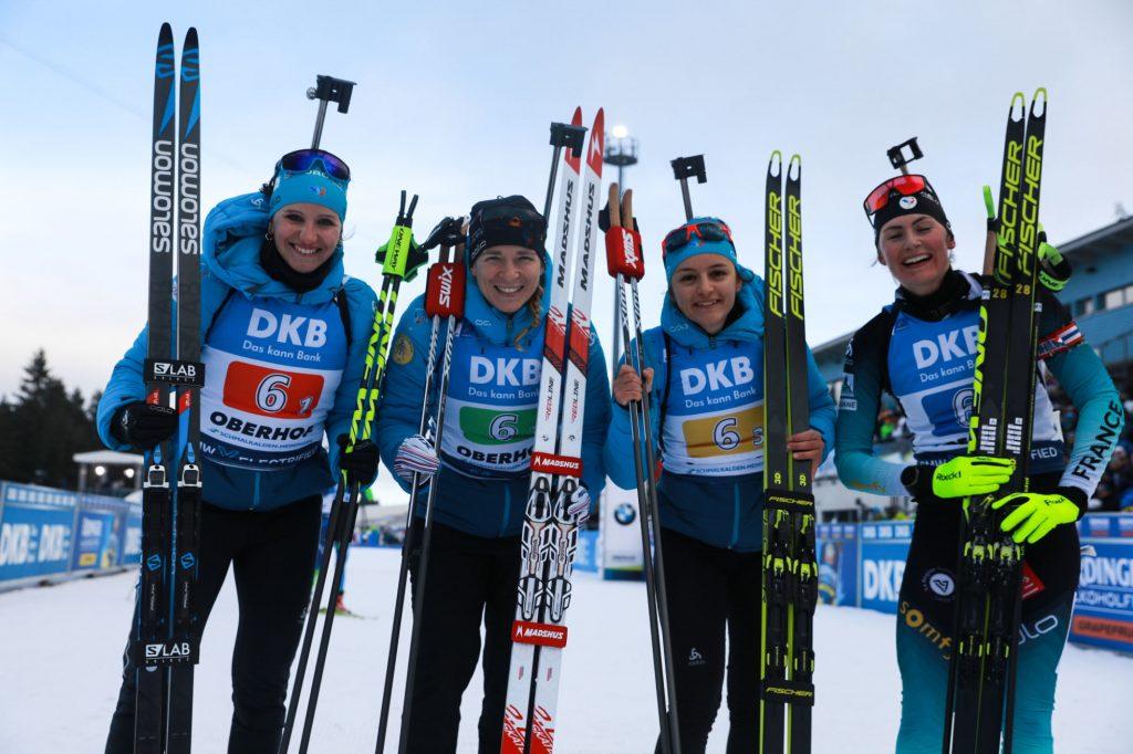 Biathlon : les Françaises sur le podium à Oberhof (3emes)