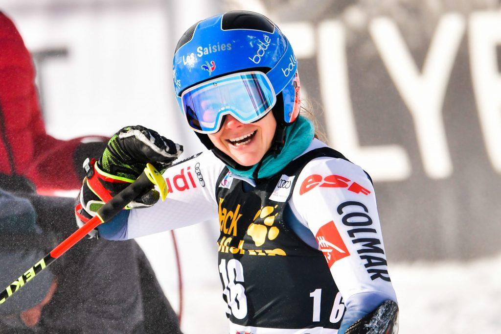 Ski alpin : première victoire en Coupe du monde pour la Française Clara Direz !