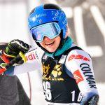 La Française Clara Direz a signé sa première victoire en Coupe du monde de ski alpin en remportant le slalom géant parallèle de Sestrières.