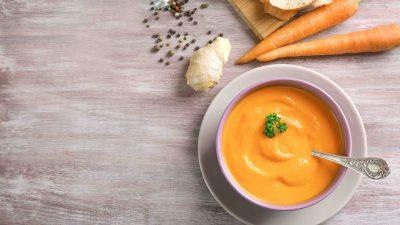 Food – Un velouté aux carottes-lentilles et vos midis s'illuminent !