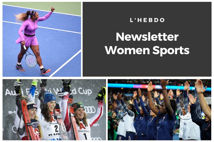 La newsletter WOMEN SPORTS du mardi 14 janvier 2020