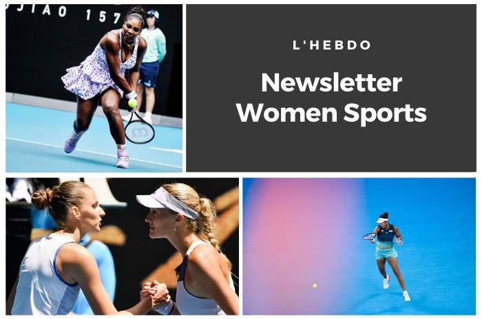 La newsletter WOMEN SPORTS du mardi 21 janvier 2020